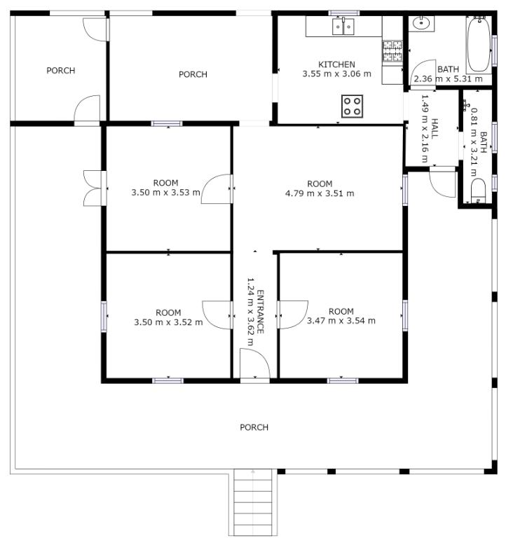 Casper floor plan